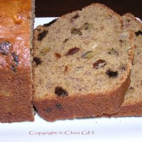 Banana-Raisin Whole Wheat Bread
