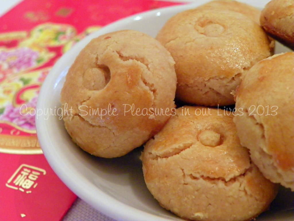 Chinese New Year Peanut Cookies