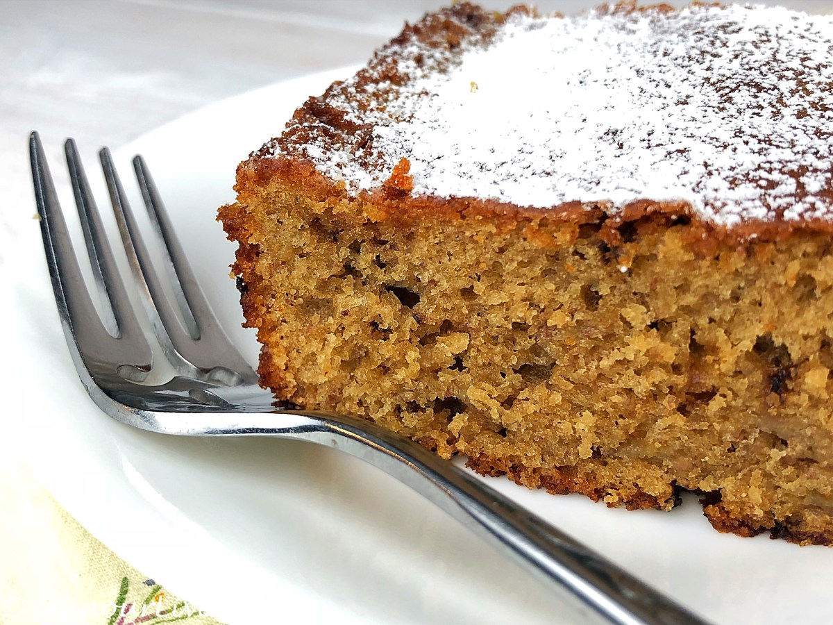 Coffee-Flavored Banana Cake