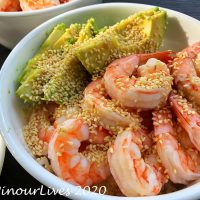 Shrimp and Avocado Sushi Bowls