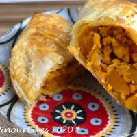 Paratha Curry Puffs