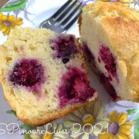 Blackberry-Citrus Jumbo Muffins