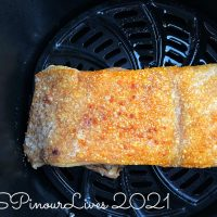 Air Fryer Sio Bak (Crispy Roast Pork Belly)