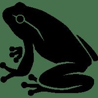 Dark Frog Icon