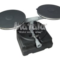 """Matala Diffuser base with two 9"""" disc diffusers"""