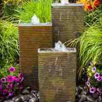 banded towers fountain kit