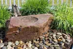 medium birdbath fountain kit chestnut