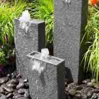 Rectangular chiseled towers fountain kit