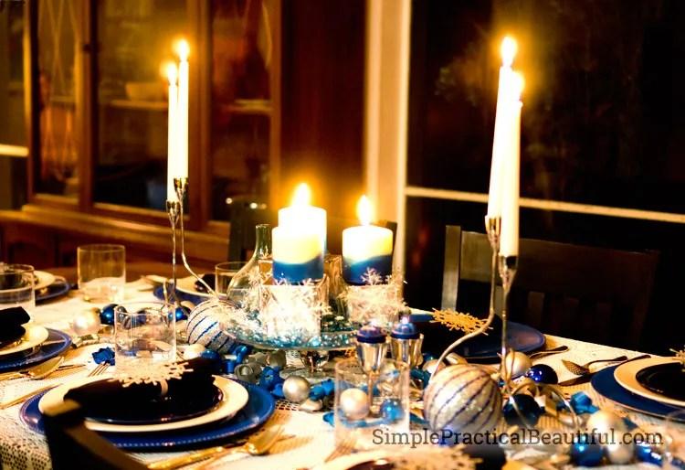 A Winter Tablescape