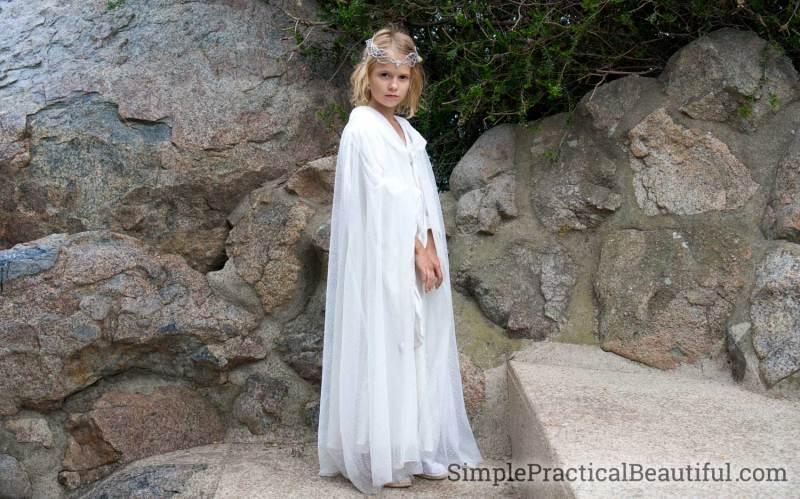 Galadriel costume from The Lord of the Rings
