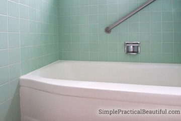 Refinishing a bathtub