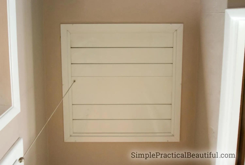 DIY Whole House Fan | SimplePracticalBeautiful.com & DIY Whole House Fan - Simple Practical Beautiful