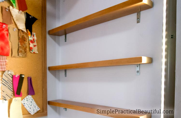 Storing sewing stuff | SimplePracticalBeautiful.com