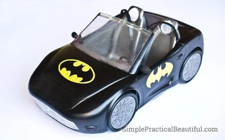 DIY Barbie Batmobile