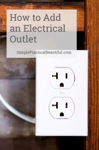 A video tutorial showing how to DIY a new electrical outlet