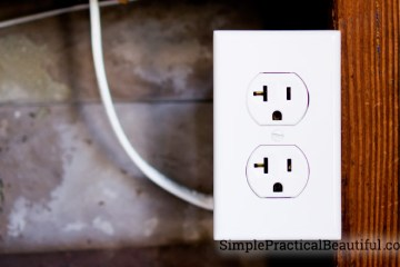 How to add an new electrical outlet from another outlet