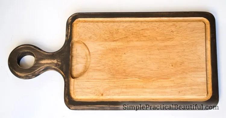A refreshed cutting board