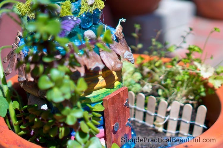 A Fairy Garden Birthday Party - Simple Practical Beautiful