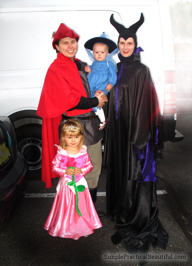 family-sleeping-beauty-costume
