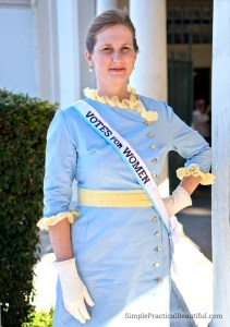 Mrs. Banks Halloween costume from Mary Poppins
