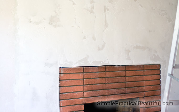 Creating texture with dry wall mud - a DIY home improvement project