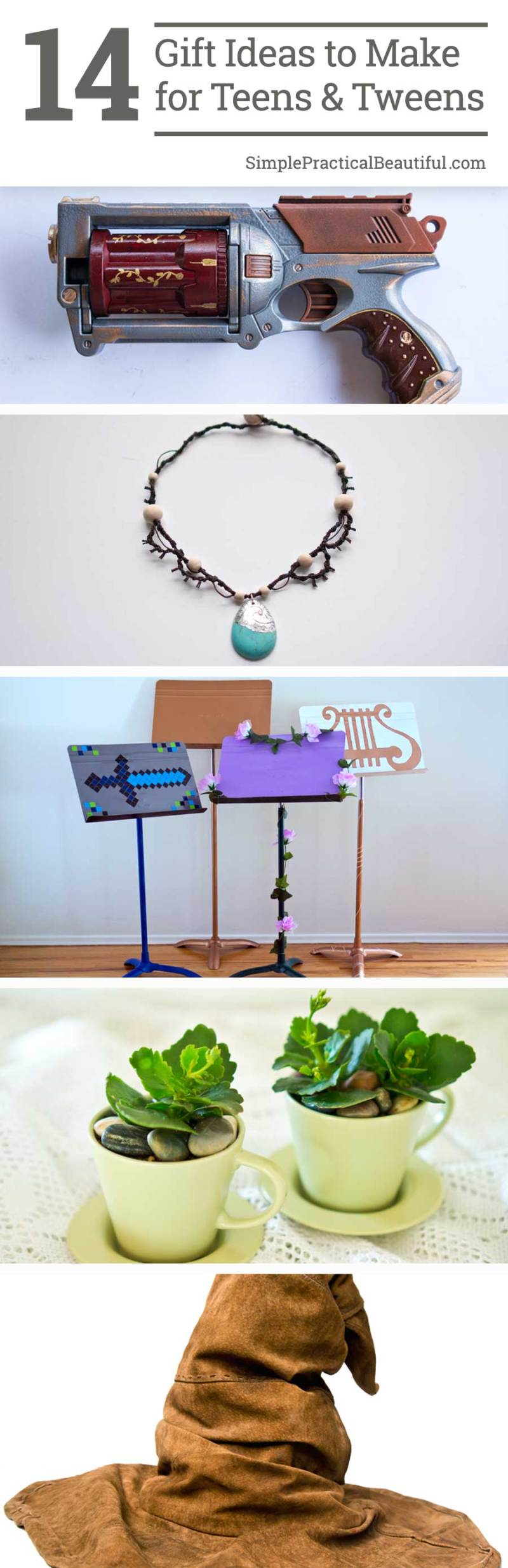 14 Gift Ideas to Make for Teens and Tweens Simple Practical