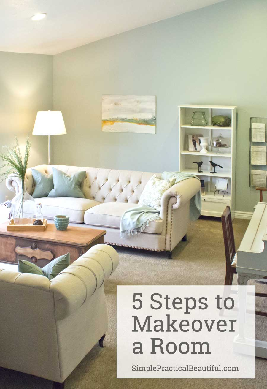 Learn The 5 Simple Steps To Give Your Room A Design Makeover | Interior  Design |