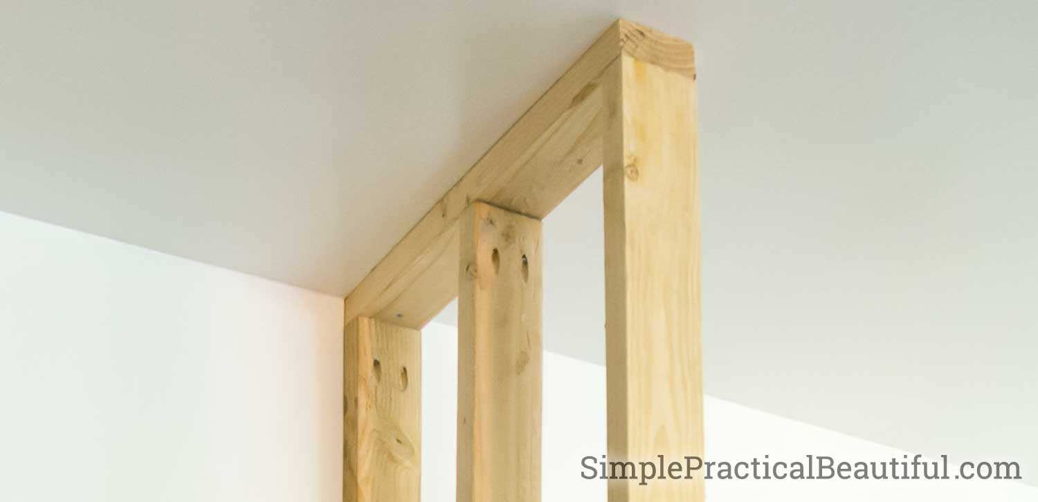 Framing a Wall in Place - Simple Practical Beautiful