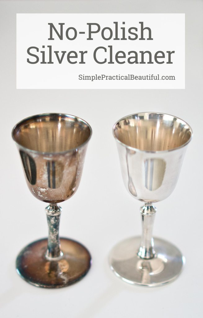 How to clean silver without polishing   Remove tarnish from silver without polish