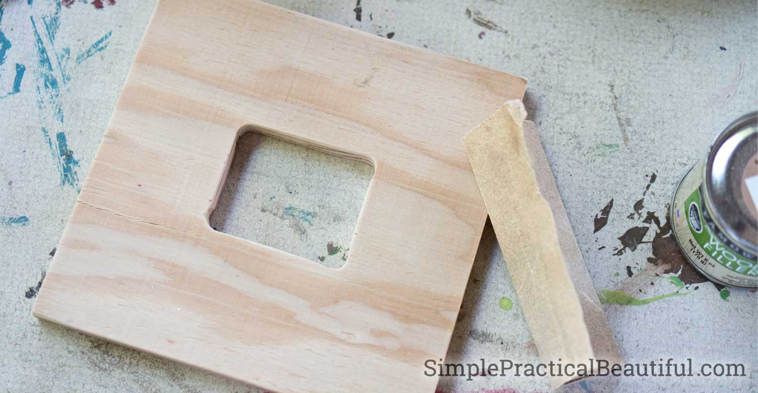 Coiled Paper Picture Frame - Simple Practical Beautiful