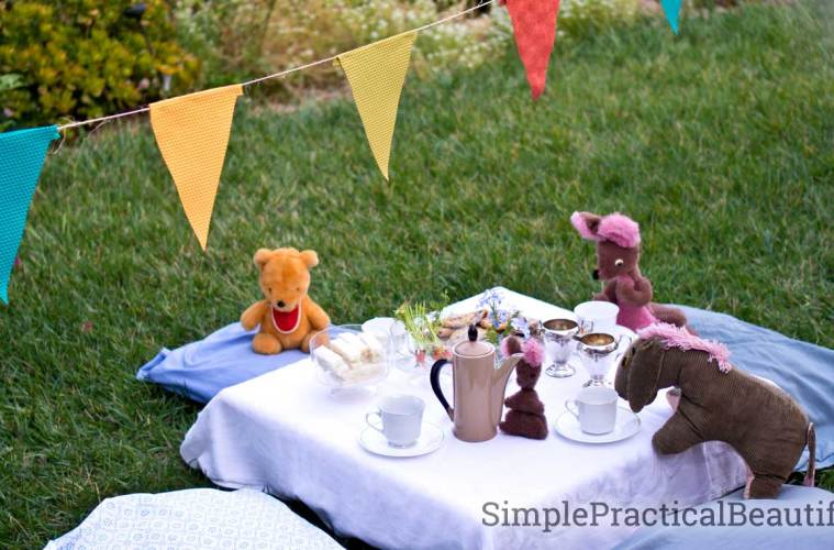Enjoy a tea party with Winnie the Pooh and all his friends. Bring your own stuffed animal to this perfect pre-school celebration.