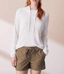 Lou & Grey twill shorts