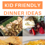 10 easy kid-friendly dinner ideas