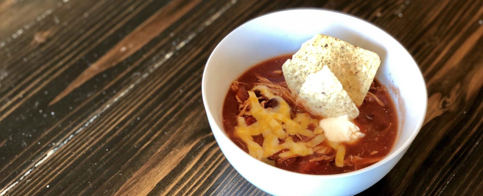 Simple Slow Cooker Chicken Tortilla Soup Recipe