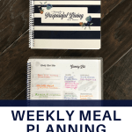 weekly meal planning journal