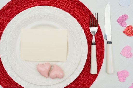 set a fancy table valentine's day activity ideas