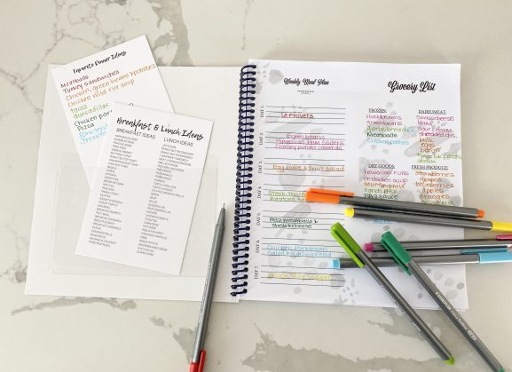 meal planner accessory kit