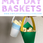 easy and quick may day baskets ideas