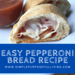 easy pepperoni bread recipe