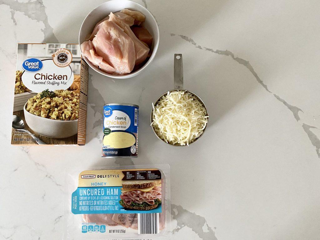 baked chicken cordon bleu recipe ingredients