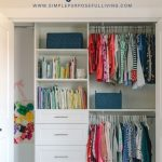 custom bedroom closet system ideas