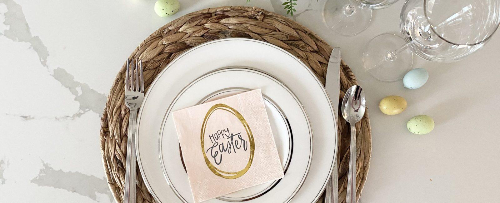 Simple Easter Dinner Menu Ideas