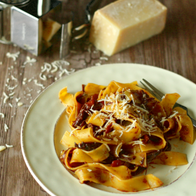 Pappardelle with Italian Beef Ragu
