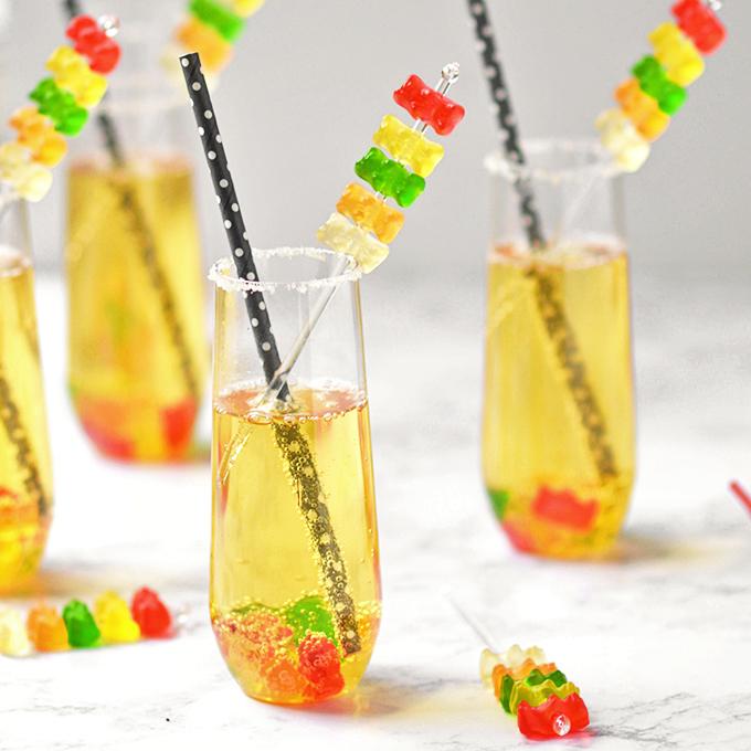 Gummy Bear Mocktails Simple Seasonal