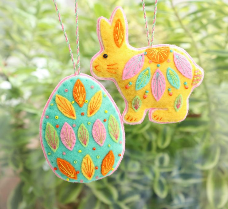 easter sewing decorations issue 92