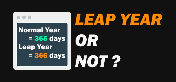 java leap year program - featured image