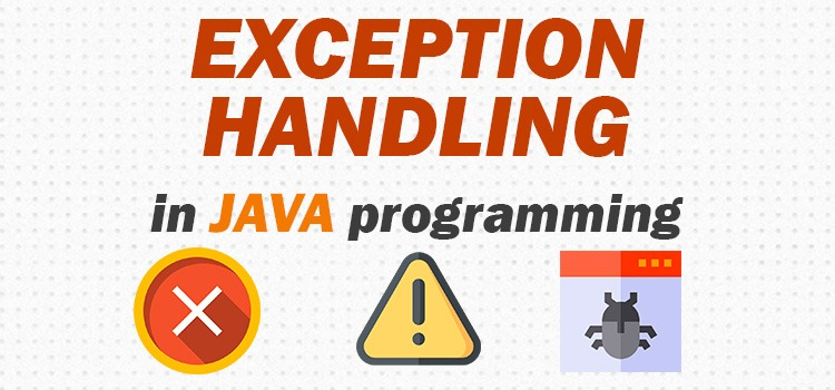 exception handling in java programming