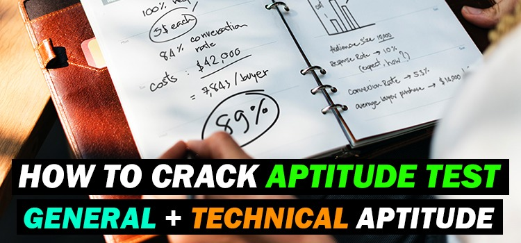 how to crack aptitude test exams