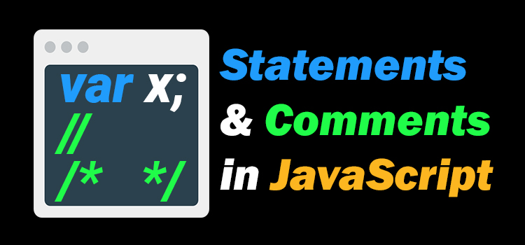 statement and comments in javascript - featured image