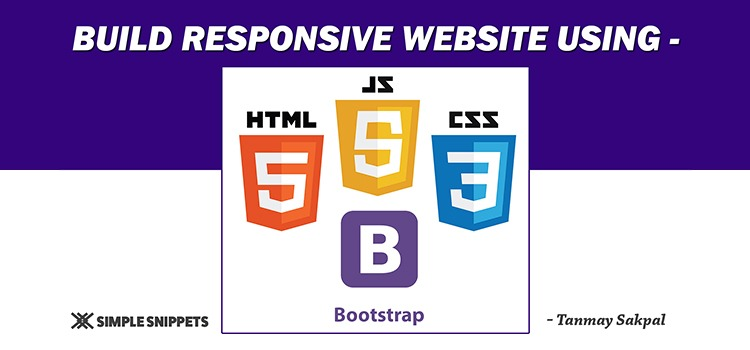 Website Development Course using HTML5, CSS, JS & BootStrap